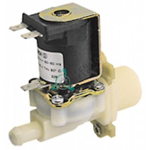 Клапан электромагнитный одинарный Muller 230VAC 3/4 d11.5мм 0G2196 для Angelo Po, Electrolux и др.