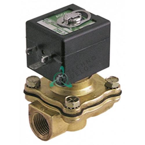 Клапан электромагнитный Asco 210 1/2 L70мм 400425-217 230В 173863 для печи Hobart 102-G/103G и др.