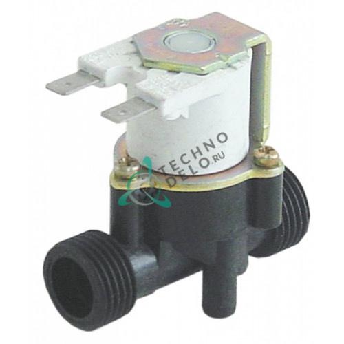 Клапан электромагнитный одинарный RPE 230VAC 1/2 34130 для мармита Lotus BM-74/ BM-78/CP-74 и др.
