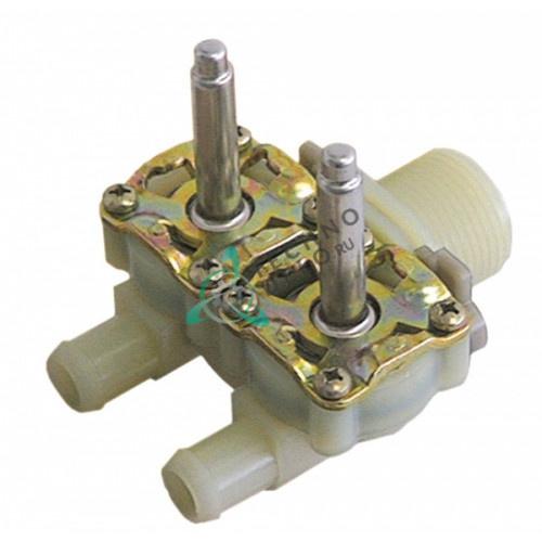 Двойной крпус клапана Muller 068180 3/4 d14.5мм 0113215 посудомоечной машины Meiko и др.