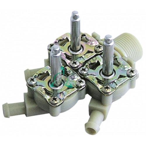 Корпус клапана Muller тройной 3/4 d11,5мм 3002.0315 печи Krefft, Rational CM101 и др.