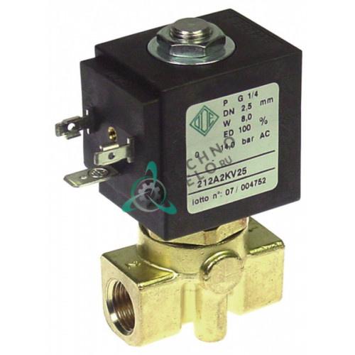 Клапан электромагнитный ODE  21A2KV25 1/4 L40мм катушка BDV 230VAC 04100030 для кофемашины