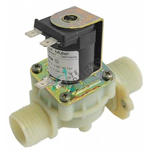Клапан электромагнитный Muller одинарный L97мм 230VAC 3/4 DN17
