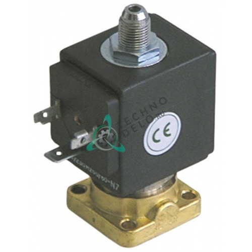 Клапан электромагнитный ODE 31A1 фланец 32x32мм катушка BDV 230VAC для Azkoyen и др.