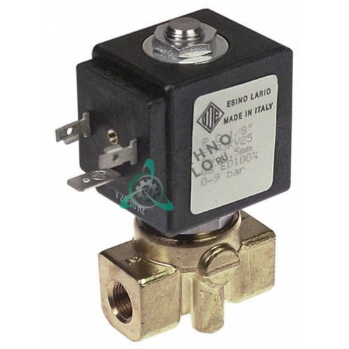 Клапан электромагнитный ODE 1/8 L40мм 21A BDA 24VAC -10 до +140 °C