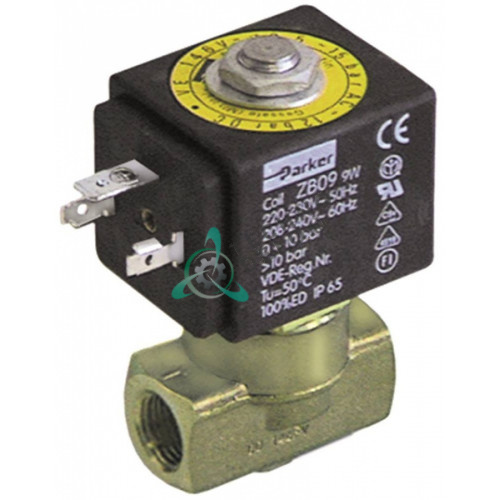 Клапан электромагнитный Parker VE-146 ZB12 24VDC (постоянный ток) резьба внутренняя 1/4