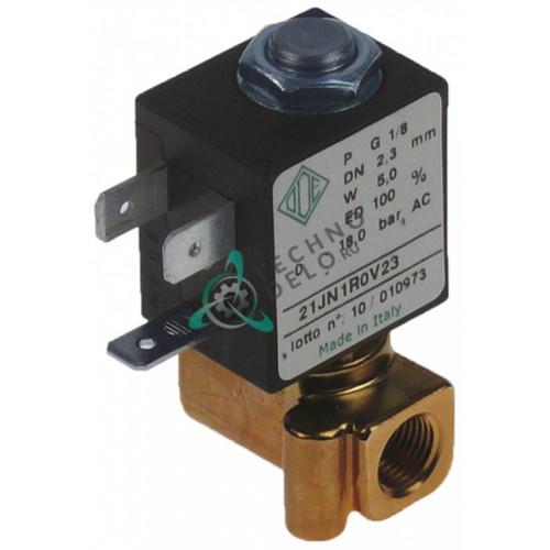 Клапан электромагнитный ODE 1/8 L30мм 230VAC 0302 для кофемашины La Scala, Nuova Simonelli и др.