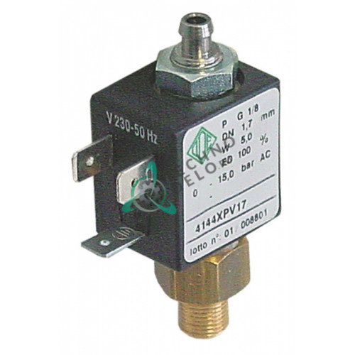 Клапан электромагнитный ODE 230VAC 1/8 04100066 для Nuova Simonelli 2GR Compact/Appia/Aurelia и др.