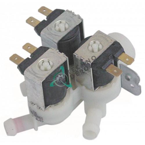 Клапан электромагнитный тройной Elbi 230VAC 3/4 d11.5мм 120175 для Comenda, Convotherm и др.