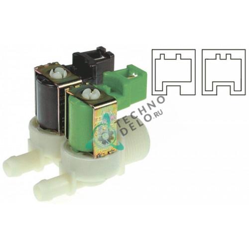 Клапан электромагнитный двойной Eaton 230VAC 3/4 d11.5мм 5000138 для Lincat, Rational и др.