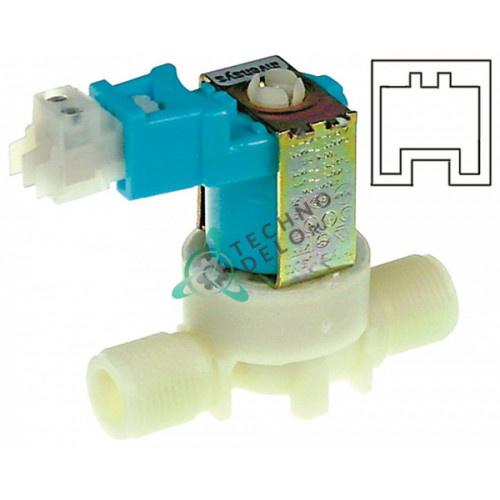 Клапан электромагнитный Invensys 230VAC 3/8 3002.0340 для печи Rational CM102/CPC102 и др.