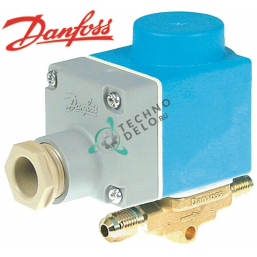 Клапан электромагнитный Danfoss EVR 3 NC 7/16 UNF 230V