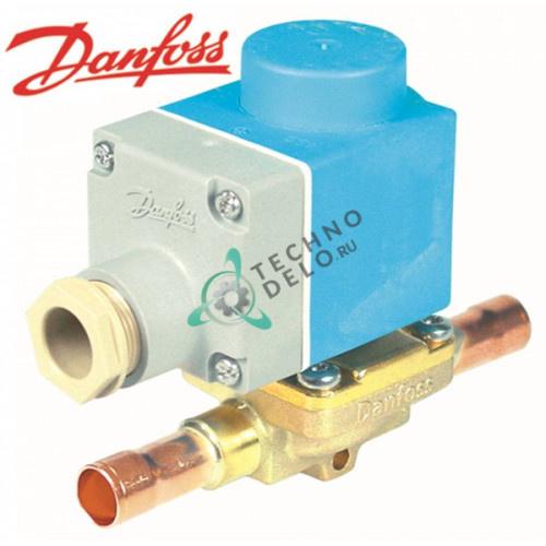 Клапан электромагнитный Danfoss EVR 10 NC 230V 12мм паечное соединение