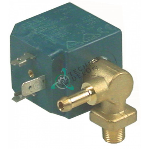 Клапан электромагнитный CEME 6628EN2 230VAC d6мм резьба 1/8 для печи Inoxtrend, Whirlpool и др.