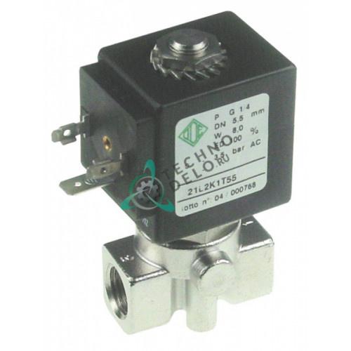Клапан электромагнитный 007016 ODE 21A BDA 230V для пароконвекционной печи Zanussi/Electrolux и др.
