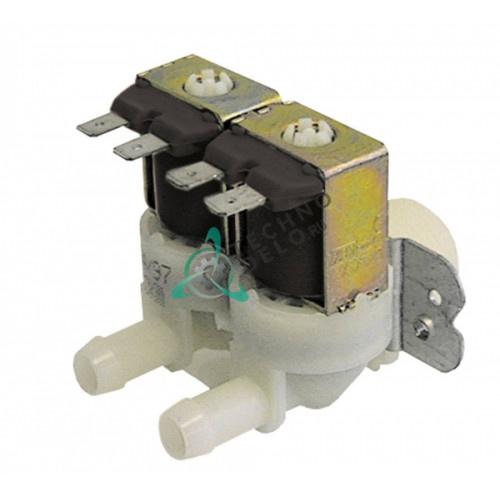 Клапан электромагнитный двойной Elbi 230VAC 3/4 d11.5мм 0,25л/мин R65115060 для Lainox, Mareno и др.