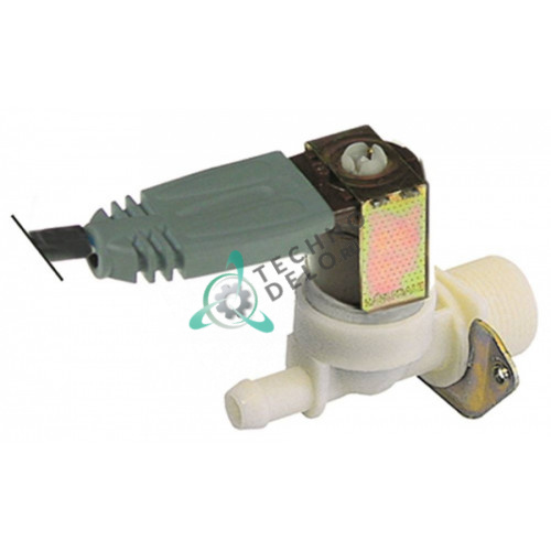 Клапан электромагнитный одинарный Invensys 230VAC 3/4 d11.5мм 30020305 для печи Küppersbusch, Rational и др.