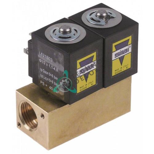 Клапан электромагнитный Sirai 1/2 ZA34A 230VAC 0C0561 0C2390 макароноварки Electrolux, Zanussi