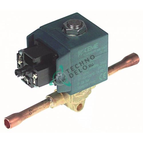 Клапан электромагнитный CEME 6806 230В d6мм 10HD140A HD70A для Desmon, Star10 и др.