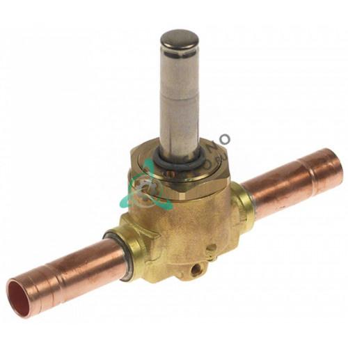 Корпус клапана Castel 1068/M10S d10мм 20409 льдогенератора Brema, Fagor, NTF и др.