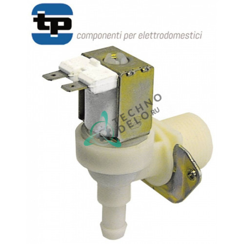Клапан электромагнитный одинарный TP 230VAC 3/4 d11.5 813050142 печи SMEG