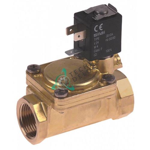Клапан электромагнитный Sirai 3/4 L79мм 24VAC Z610A 33D1050 для Angelo Po, Comenda, Whirlpool и др.