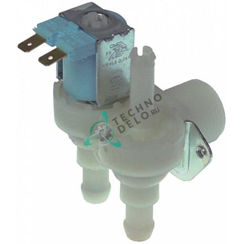 Клапан электромагнитный двойной TP 230VAC 3/4 d11,5мм 2,5л/мин 23138 23501 для Brema