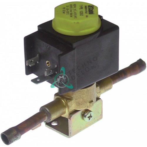 Клапан электромагнитный CASTEL модель NC 230V 32бар 6мм -35 до 105 °C 995336 FR995336 для Friulinox, Lainox и др.