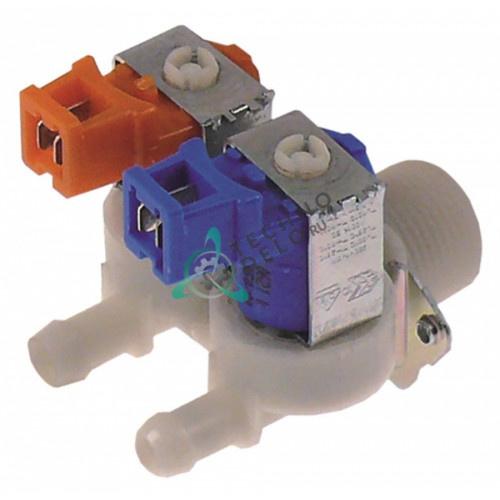 Клапан электромагнитный двойной Eaton (Invensys) 230VAC 3/4 d11.5мм 0,25 л/мин