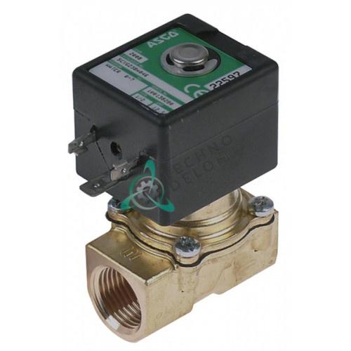 Клапан электромагнитный ASCO 24VAC 1/2 L52мм 0280042 для Henkelman, Allpax и др.
