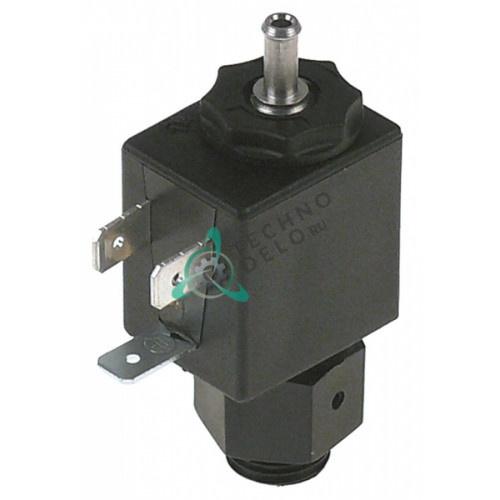 Клапан электромагнитный 24VAC вход 1/4 выход ø4мм 0900858 для вакуумного упаковщика Henkelman