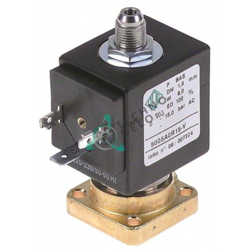 Клапан электромагнитный ODE BDA 230VAC вода/пар 9008257 для кофемашины Reneka Concept/LC и др.