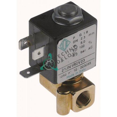Клапан электромагнитный ODE 1/8 L30мм 230VAC для кофемашины La Scala