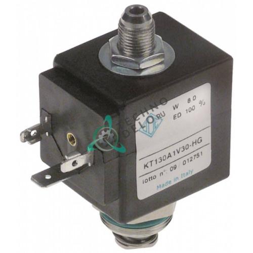 Клапан электромагнитный ODE 230VAC 1/8 M22x1 410615 для кофемашины Conti