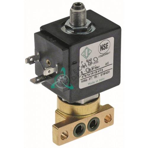 Клапан электромагнитный ODE 4767A1R15-VT3 L44,5мм BDP 230VAC для La Marzocco и др.