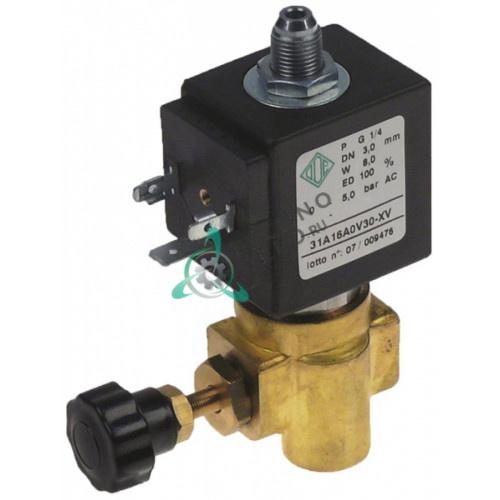 Клапан электромагнитный ODE 31A1 1/4 BDU 230VAC 18161980 для кофемашины Astoria