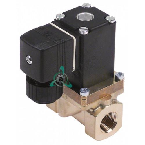 Клапан электромагнитный Burkert 0280 3/8 230VAC мембрана NBR