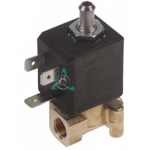 Клапан электромагнитный CEME 53 L28мм 230VAC 1/8 для кофемашины Nuova Simonelli и др.