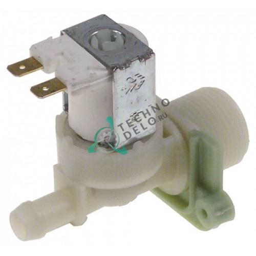 Клапан электромагнитный одинарный TP 11510P C 230VAC 3/4 11.5мм 120173 для Sammic, Fagor и др.
