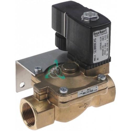 Клапан электромагнитный Burkert 230VAC 3/4 L100мм 25305 для Hoonved