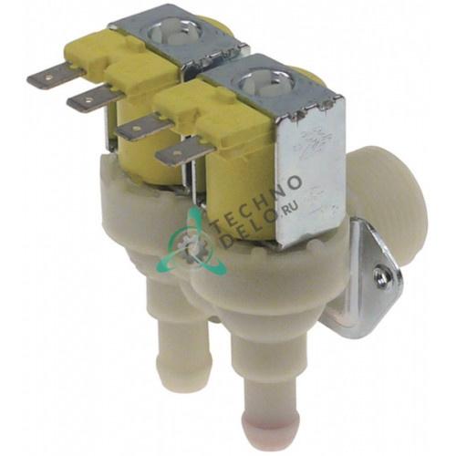 Клапан электромагнитный двойной TP 24В 3/4 d11,5мм 0C1435 для Electrolux