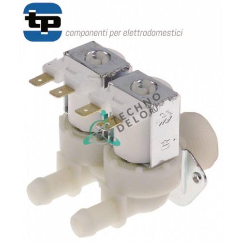 Клапан электромагнитный двойной TP 230VAC 3/4 d11,5мм 0H2505 0K8195 для печи Electrolux, Zanussi