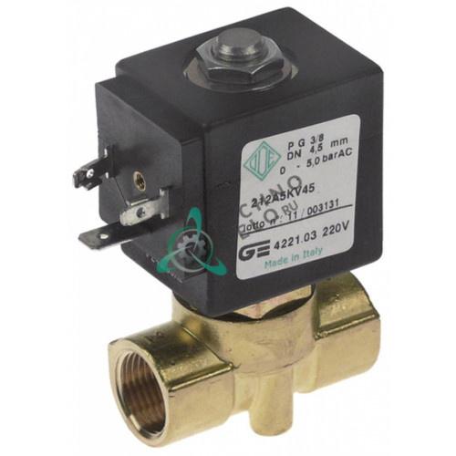 Клапан электромагнитный ODE BDA 240VAC L46мм 13216 кофемашины La Rocca
