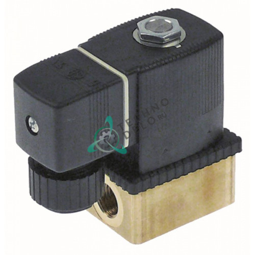 Клапан электромагнитный Burkert 6013 24VDC 1/4 L46мм 1100008 для вакууматора Orved