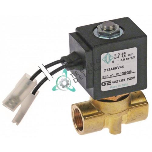 Клапан электромагнитный ODE L46мм BDA 230VAC 13216 кофемашины La Rocca Expres