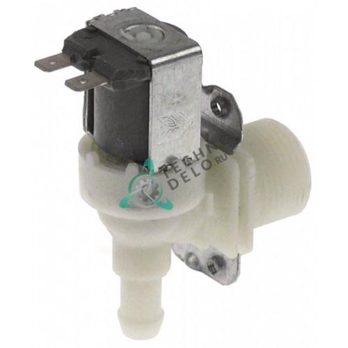 Клапан электромагнитный Elbi одинарный угловой 24VAC 3/4 d-11.5мм DN10 13103 для посудомоечной машины ATA, MBM