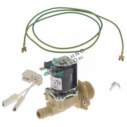Клапан элетромагнитный Muller 8 л/мин 230В 60004251 для моющих машин Winterhalter серии MTF, MTR