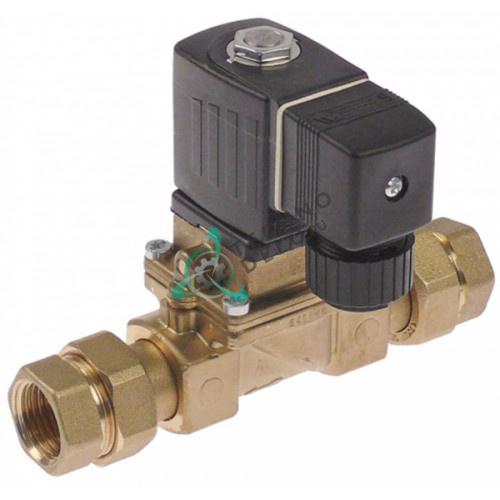 Клапан электромагнитный Burkert 230VAC 1/2IG L135мм 0301159 для Lamber
