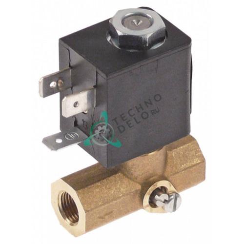 Клапан электромагнитный 230VAC 1/8 L40мм 201141 для пароконвектомата MKN CGE/CGG/CSG