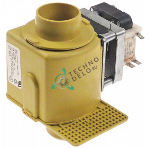 Клапан сливной электромагнитный MDB-O-2 NO d50мм/d35мм 12024781 для Fagor, Domus, Girbau и др.